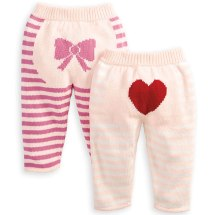 Bella Bliss Intarsia Knit Pants